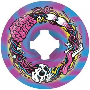 Brains Speedballs Blue Purple Swirl Wheels