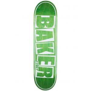 Baker Skateboard Decks Figgy Brand Name Green Veneer Vorderansicht 0262644 600x600