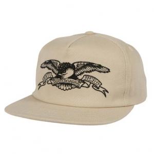 Basic Eagle EMB Snapback - Khaki/Black