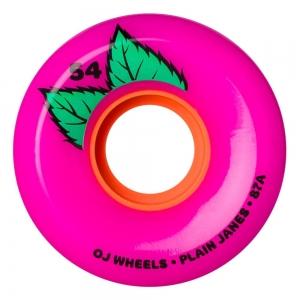 Oj Plain Jane Keyframe Pink Skateboard Wheels