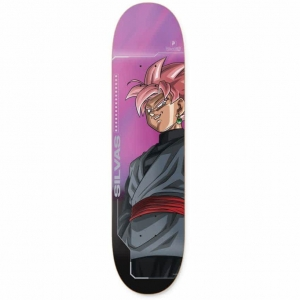 DBZ Miles Silvas Goku Black Rose Deck
