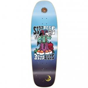 Siamese Invader Slick Skateboard Deck 9 375 P55737 130357 Image