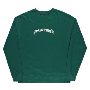 Sweaty Puff Print Sweater - Heather Grey