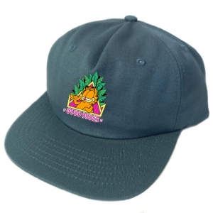 5 panel snap back cap. One size fits all Forrest green