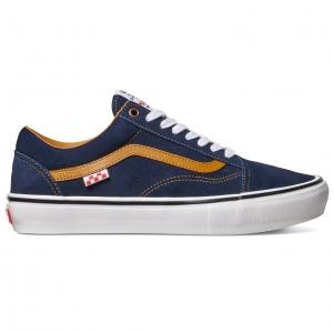 Reynolds Old Skool Pro Shoes - Navy/Golden Brown
