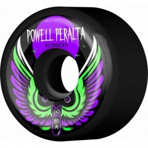Wheel Diameter: 60mm Wheel Width: 44mm Wheel Hardness: 85a Wheel Formula: Natural Wheel Color: Black Wheel Surface: Smooth