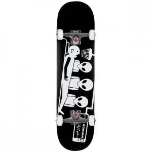 Abduction Black Complete Skateboard 8 0 X 32 P56660 131838 Image