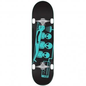Alien Workshop Skate Complete Alien Workshop Abduction Complete Skateboard 7 75 Black Teal 16188929179730 575x863