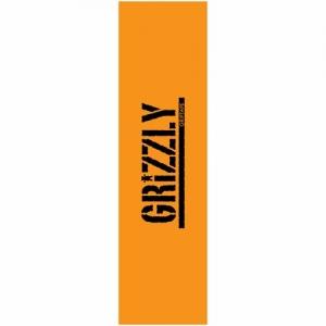 Grizzly Stamp Griptape - Orange/Black