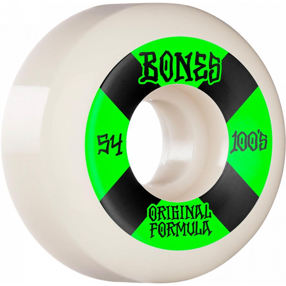 Bones – 100's White V5 Formula Wheels
