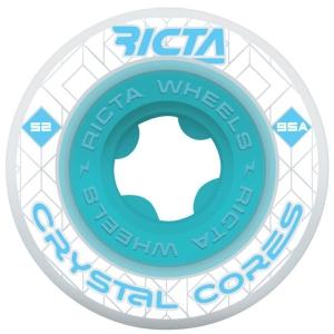 Crystal Core 95a Wheels - Clear Blue