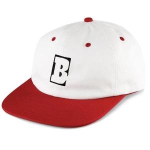 Capital B Snapback - White/Red
