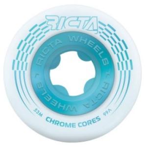 Chrome Core 99a Wheels - White/Teal