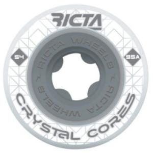 Crystal Core 95a Wheels - Clear Grey
