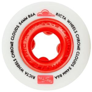 Ricta Chromecloudsredskateboardwheels.54mmx86a