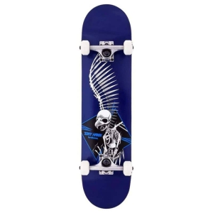 Birdhouse Complete Stage 1 Full Skull 2 Blue 7.5 In 1