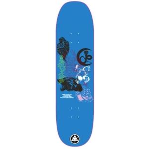 Flash On Moontrimmer 2 0 Blue Skateboard Deck 8 5 P56053 130900 Image