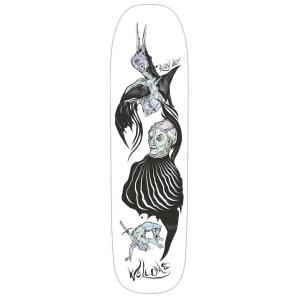 Ryan Lay Isobel On Stonecipher White Prism Foil Skateboard Deck 8 6 P56054 130901 Image