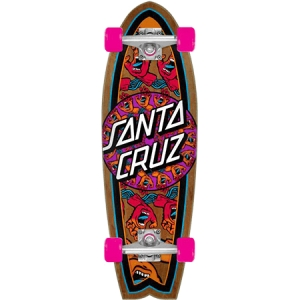 Santa Cruz Cruiser Skateboard Shark Mandala Hand 29 7