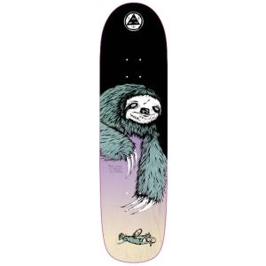 Sloth On Son Of Planchette Black Lavender Skateboard Deck 8 375 P56049 130896 Image