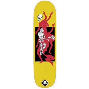 The Magician On Big Bunyip Yellow Skateboard Deck 8 5 P56050 130897 Image