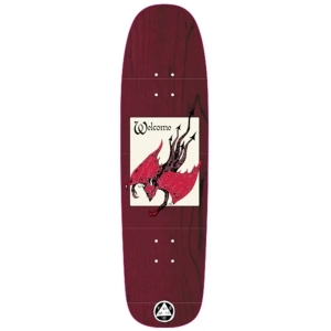 Unholy Driver On Son Of Golem Dark Red Stain Skateboard Deck 8 75 P56056 130903 Image