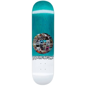 Univision Skateboard Teal Stain Deck 8 25 P57385 133016 Image